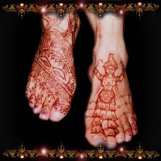 Arabic Wedding Feet 3 Persian Dancer